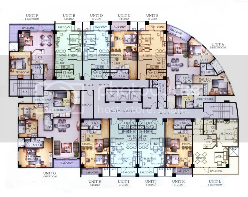 Venice Luxury Residences Floorplan