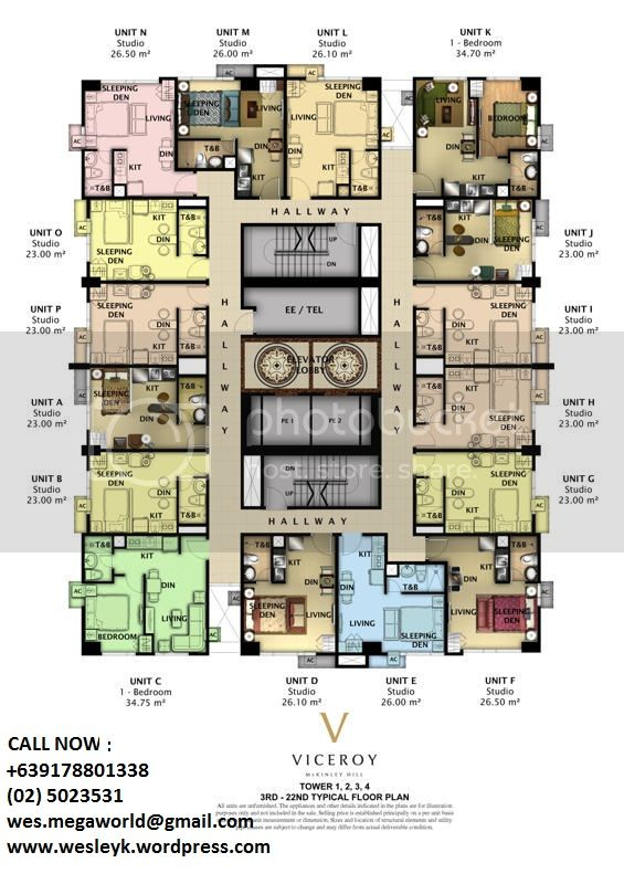 Viceroy Residences floorplan